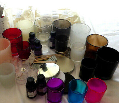 2k Soy Wax Candle Kit Choose Your Jars Make Your Own Kit Jug Oils & Much More. 2