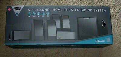 Sharper Image 51 Home Theater System With Subwoofer Soundbar