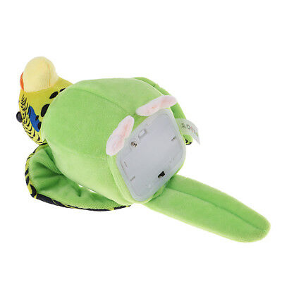 Beautiful Talking Parrot Repeat Voice Recorder Toy Gift for birthday Green