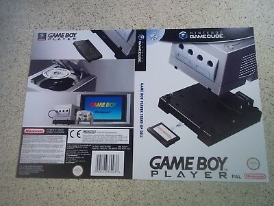 Gameboy Player:Nintendo Gamecube Replacement Box Art Sleeve/ Reproduction