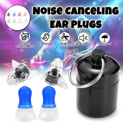 20dB, 27dB Noise Cancelling Ear Plugs Hearing Protection Musicians Motorcycles