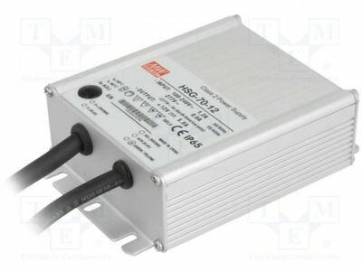 1 pcs Alimentation: à impulsions; LED; 60W; 12VDC; 3÷5A; 90÷305VAC; IP65