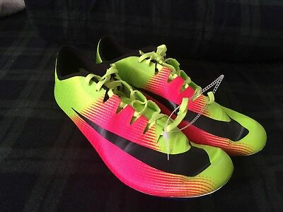new style afbb5 d264f Nike Zoom JA FLY 3 OC Rio Track   Field Spikes Volt 882032-999 Men s