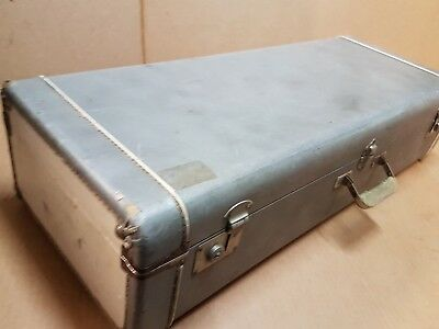 50's GREY TENOR SAX / SAXOPHONE CASE - made in USA