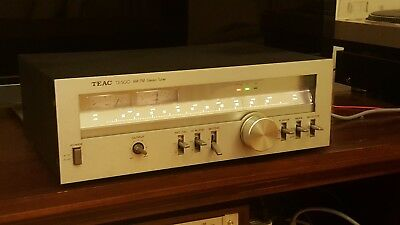 Vintage Audio Teac Tx-500 Am-Fm Stereo Tuner Radio With Manual