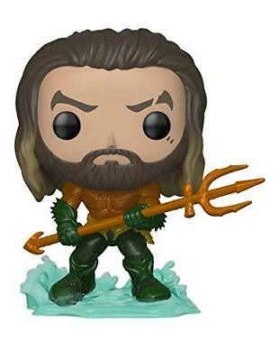 Funko Pop Heroes: Aquaman - Arthur Curry in Hero Suit Collectible Figure, Multic
