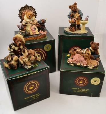 Lot of 4 Boyds Bears & Friends with Boxes - Bearstone - Lot #6 - #LBB-01