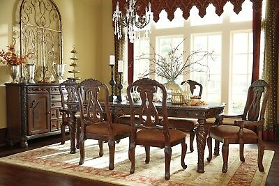 Ashley North Shore 7 Piece Extension Table Dining Room Set