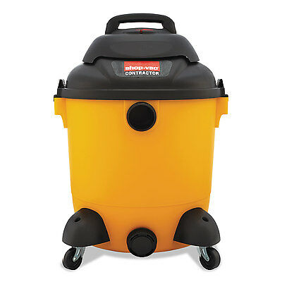 Shop-Vac Economical Wet/Dry Vacuum 12gal Capacity 23lb Black/Yellow 9625110
