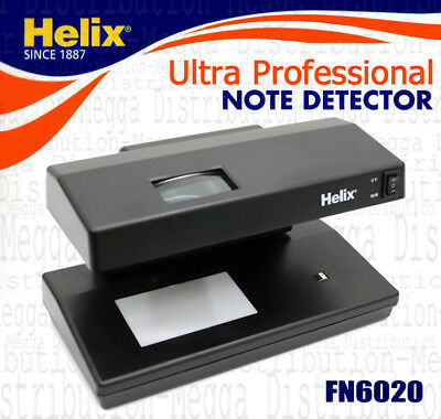 Helix UV Light Fake/Counterfeit Money Bank Paper/Polymer Note Checker/Detector