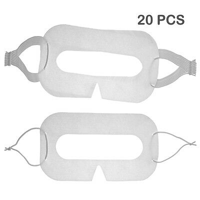 20 PCS Disposable Facial Mask-HTC Vive/Oculus Rift/PlayStation/Gear VR Headset