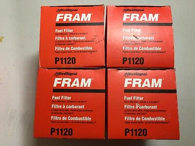 LOT OF 4 Fuel Filter SPIN ON Fram P1120 INTERNATIONAL DT466 NAVISTAR Navistar Fuel Filter on peterbilt fuel filter, maxxforce fuel filter, mercedes benz fuel filter, volvo fuel filter, kenworth fuel filter,