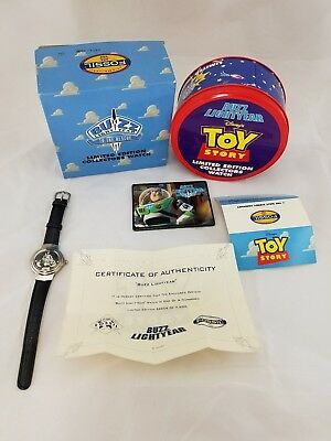 DISNEY'S Toy Story Buzz Lightyear LE Collectors Watch and Tin by FOSSIL