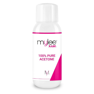 Mylee 100% Pure Acetone Nail Polish Remover High Quality for UV/LED Gel (600ml)
