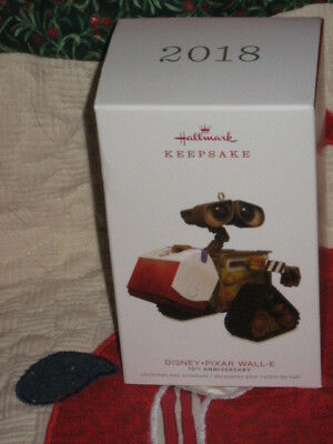 "2018 Hallmark ""DISNEY*PIXAR WALL-E - 10TH Anniversary - NEW!"