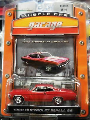 1968 Chevrolet Impala Ss Greenlight Muscle Car Garage 1 1 64 Scale