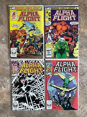 Alpha Flight #1-30 (1983) 9.2 NM Marvel Huge Key Issue Comic Book Lot High Grade