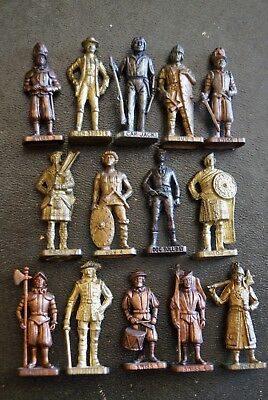 lot de 14 SOLDATS KINDER METAL