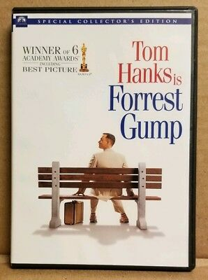 Forrest Gump Dvd Featuring Tom Hanks Special Collector's Edition
