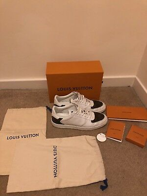 33be53090d6a7 Louis Vuitton Rivoli Sneakers Trainers Monogram Boxed With Invoice LV Mens  8.5 9