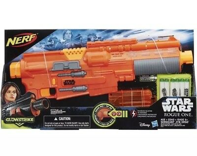 Star Wars Rogue One Nerf Deluxe Blaster Sergeant Jyn Erso Brand NEW!