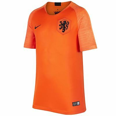 29ea160e8 Nike Netherlands Home Jersey 2018 Holland Juniors Orange Football Soccer  Shirt