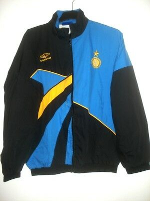 new style f921a 50d9f VINTAGE 90'S UMBRO INTER MILAN Training Kit Jacket No Shirt Jersey Maglia  Italy
