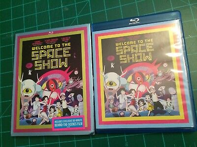 Welcome to the Space Show Blu-ray Anime Movie 2014 2-Disc Set w SLIPCOVER GKIDS