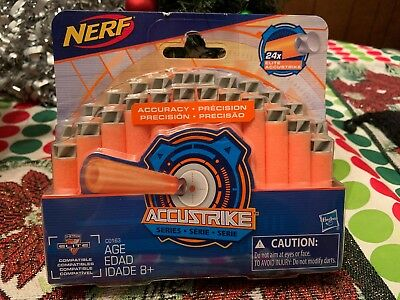 Nerf Accustrike Series 24 Pack Darts (Nerf N-Strike Elite Compatible) Brand New!