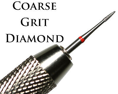 Coarse Diamond Coated Pin + Double Ended Vice Uncleaned Roman Coin Cleaning Tool