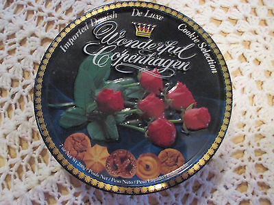 """1--  BISCUIT  TIN   7  1/2 """"  x  1 1/4  """"  High  ---IN  GOOD ORDER"""