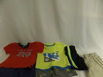 Infant Boys Lot Of 12 M Dc Short Outfit,Nautica, Puma Okie Dokie Short Sleeve