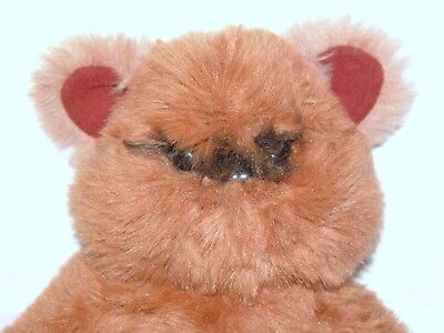 "Vintage 1983 Kenner Wicket the Ewok plush stuffed large 15"" Star Wars ROTJ"
