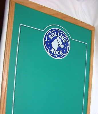 Rolling Rock Beer Advertising Chalk Board Sign
