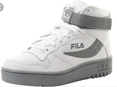 b694fafb109e FILA FX-100 MENS Sneakers. Old School White And Grey. 1VB90179 101 ...