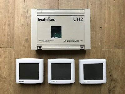 Heatmiser 4 zone wiring centre and 3 x heatmiser uh8 wiring centre £64 79 picclick uk