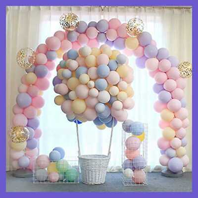 100Pcs Macaron Candy Colored Latex Balloon For Birthday Party Decoration Baby Sh