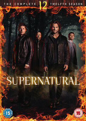 Supernatural: The Complete 12th Season (2017 DVD)