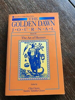 Llewellyn's Golden Dawn: The Art of Hermes Bk. 3 by Sandra Tabatha Cicero and Ch