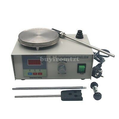 Laboratory Magnetic Stirrer Constant Temperature +Heating Plate 220V Mixer B-