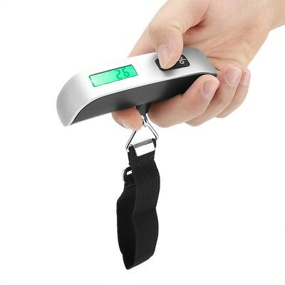 Portabl Electronic Portable Digital Luggage Scale Weigh Hanging Travel 10G/50Kg