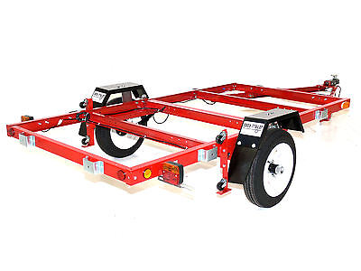 Foldable Trailer - Fold A Way Trailer - Folding Trailer -  8x4 Chassis Kit