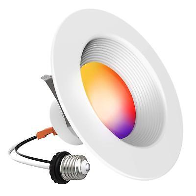 10% off, iLintek Smart LED Downlight, 4 inches Multicolored Dimmable, Bluetooth