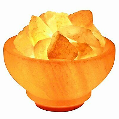 Crystal Allies Gallery CA SLSFB-S Natural Himalayan Salt Fire Bowl Lamp