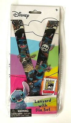 2018 SDCC – Exclusive STITCH Lanyard & Pin Set - LE 432 Set - SOLD OUT