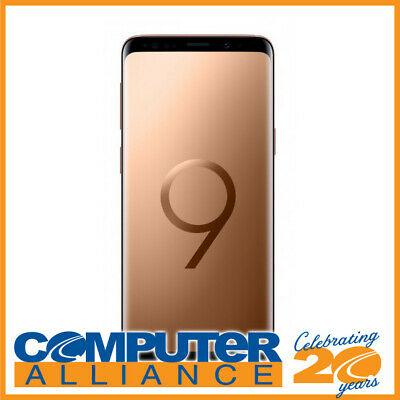Samsung Galaxy S9 64GB Sunrise Gold Phone PN SM-G960FZDAXSA