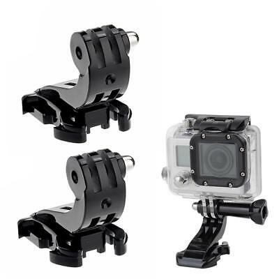 2PCS J Hook Buckle Vertical Surface Mount Adapter for GoPro HD Hero 4 1 2 3 3+ H