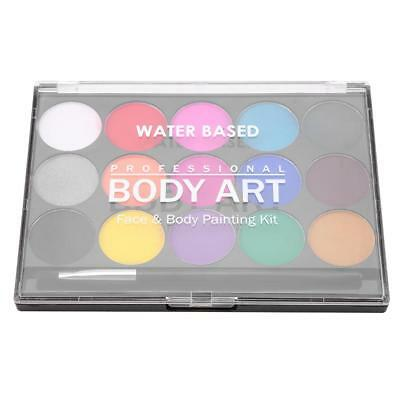 16 Colors/Set Non-toxic Face Body Painting Kit For Stage Make-Up Water Based