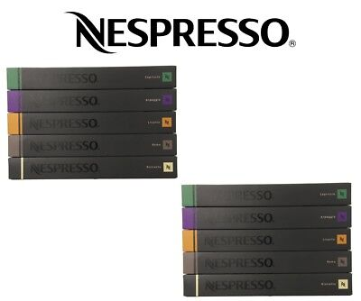 100 Capsules Nespresso Coffee Best Variety Pack Mixed Pod - Top 5 Popular