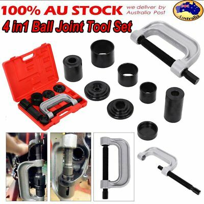 10pc Ball Joint Press Service Kit Remover Separator Adaptor 4x4 Garage Tool A